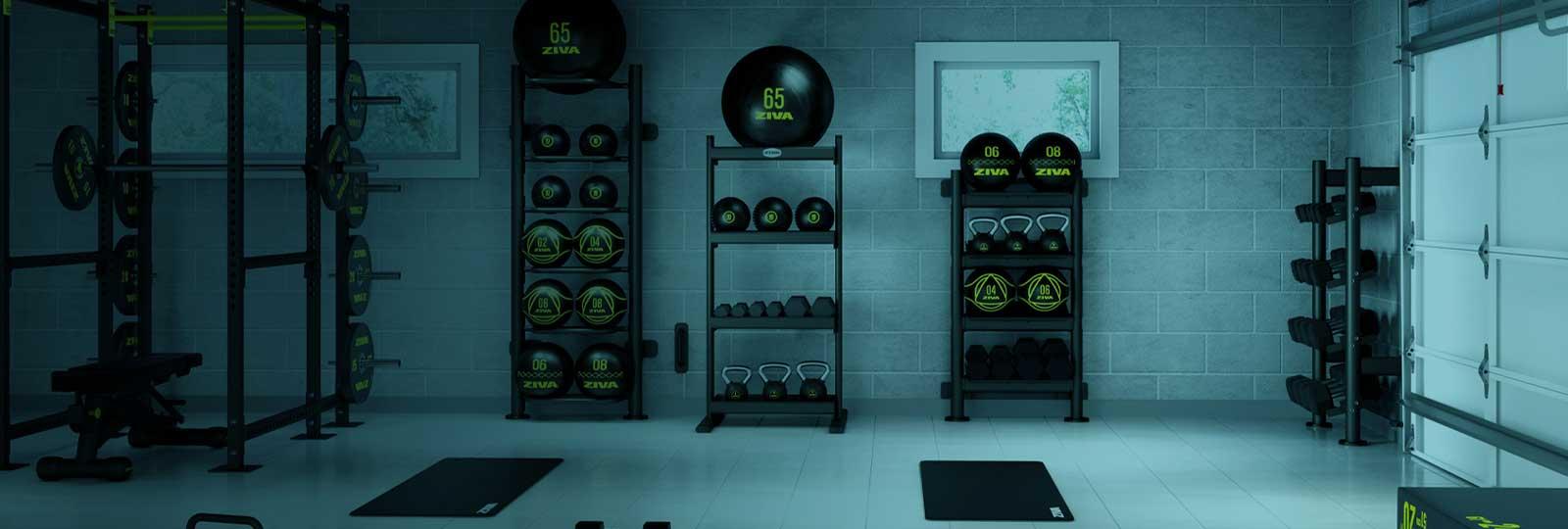 home gym design & equipment