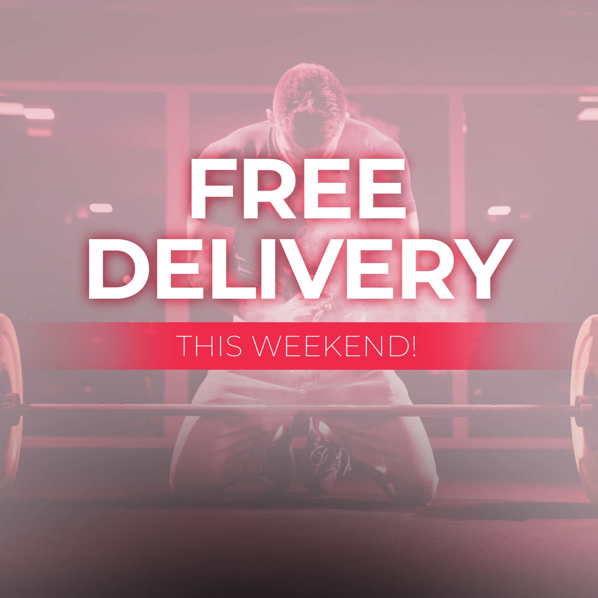 FREE DELIVERY ALL WEEKEND