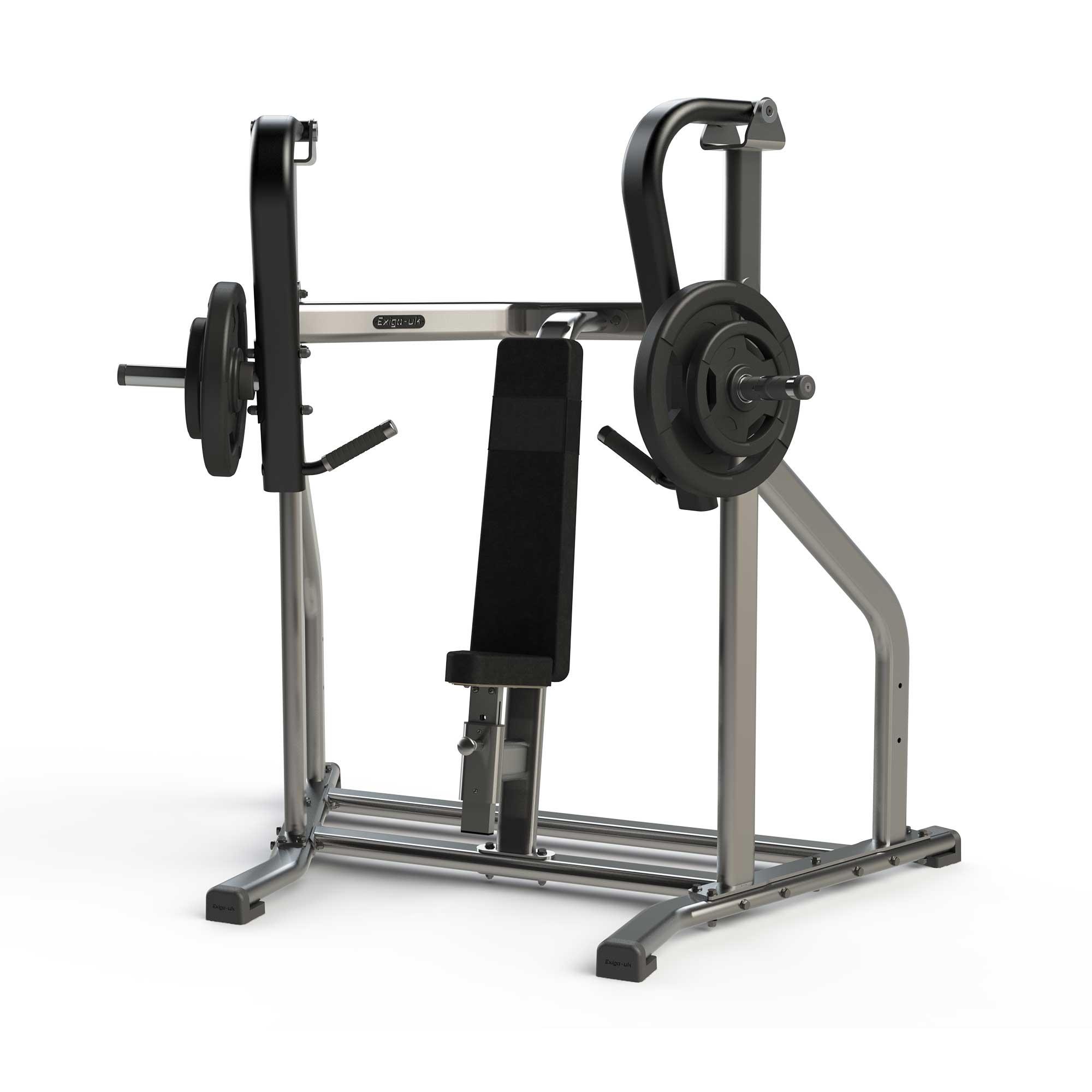 Exigo Iso Plate Loaded Incline Chest Press Shop All Strength