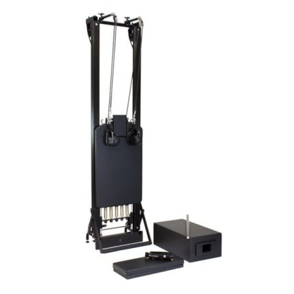 Merrithew SPX® Max Reformer with Vertical Stand Bundle (Onyx)