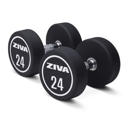ZIVA XP Urethane Dumbbells