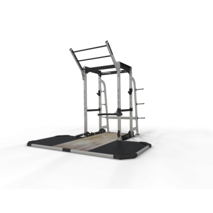 Exigo Pro Power Rack System with Lifting Platform