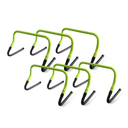 Pack of 6 Adjustable Hurdles