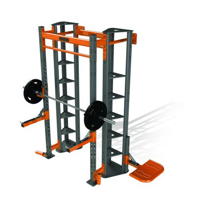 Forge Compact Wall Squat Station
