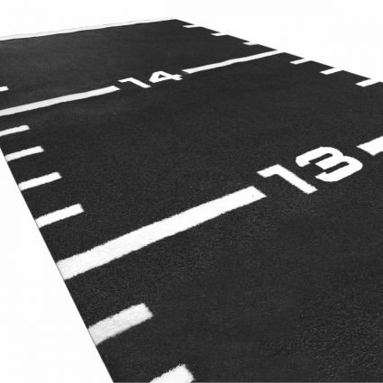 Sprint Track 11m long - 1m wide (Black)