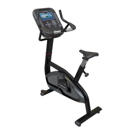 "Star Trac 4-Series Upright Bike - 10"" LCD Console"