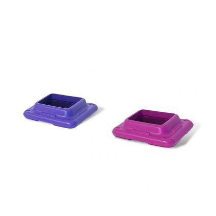 Original Step - 1 Pink & 1 Purple Riser