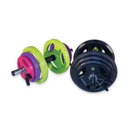 30mm PU Dumbbell Set - 35kg