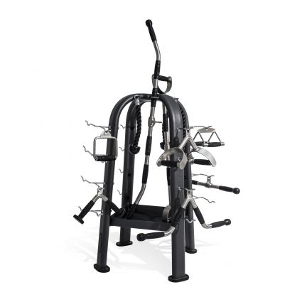 Cable Attachment Rack with 16 Club Pack Attachments