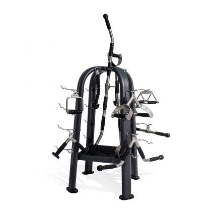 Cable Machine Attachment Rack - Empty