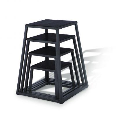 Plyo Boxes - Carbon Silver