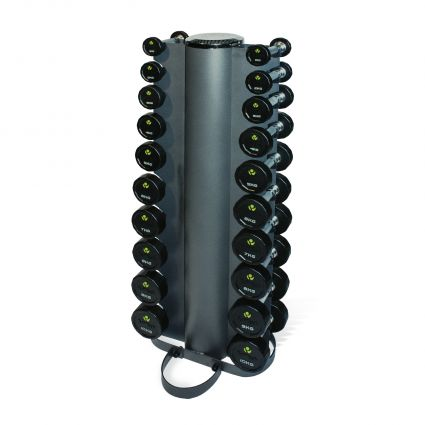 PU Dumbbell Sets with Vertical Racks