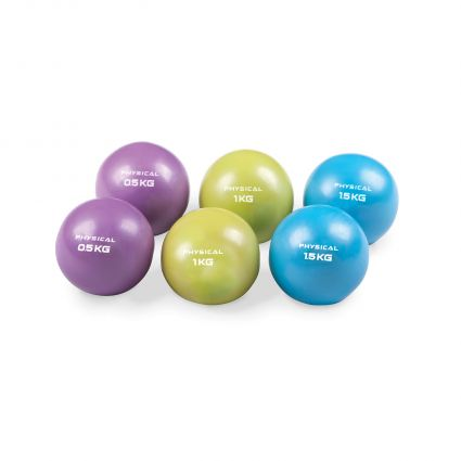 Weighted Soft Pilates Balls (Pair)