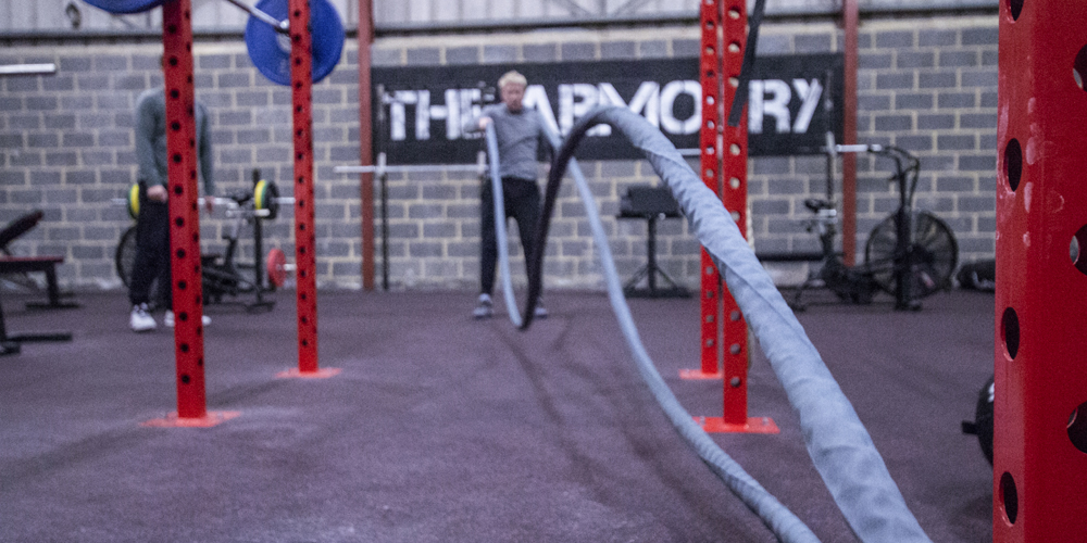 The Armoury is a specialist strength and conditioning facility