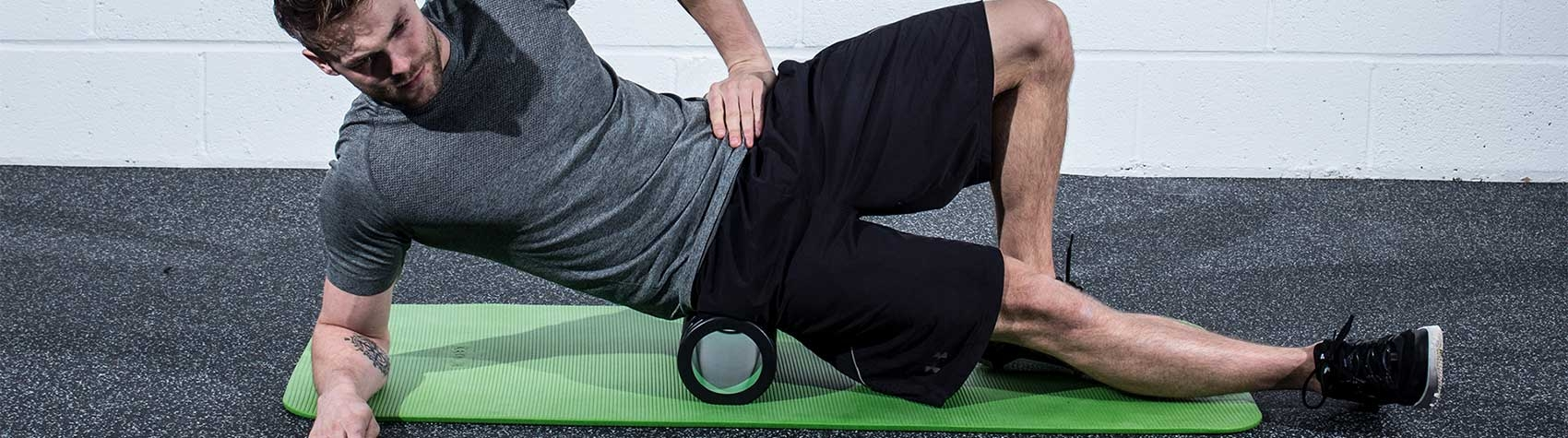 Exerciser using the Performance Foam Roller