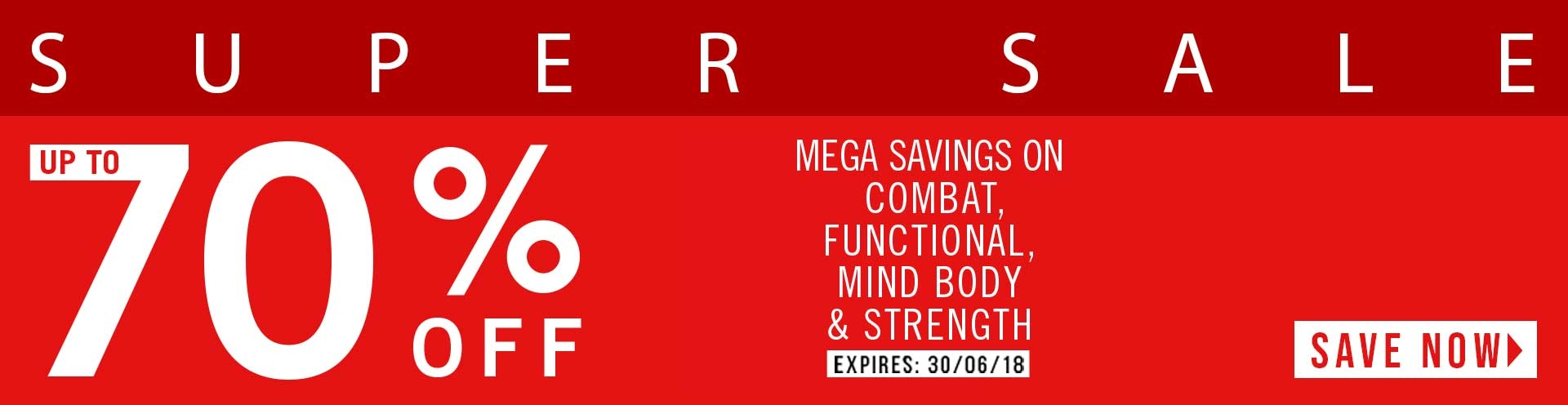 Up to 70% OFF Combat, Functional, Mind Body & Strength
