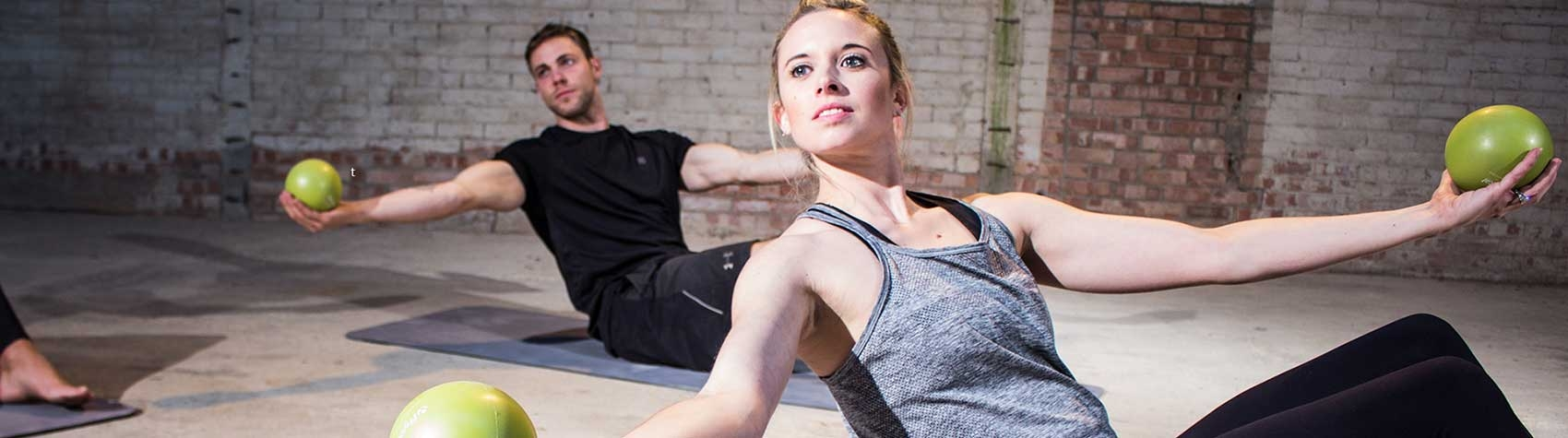 A comprehensive selection of high quality, commercial Pilates Balls