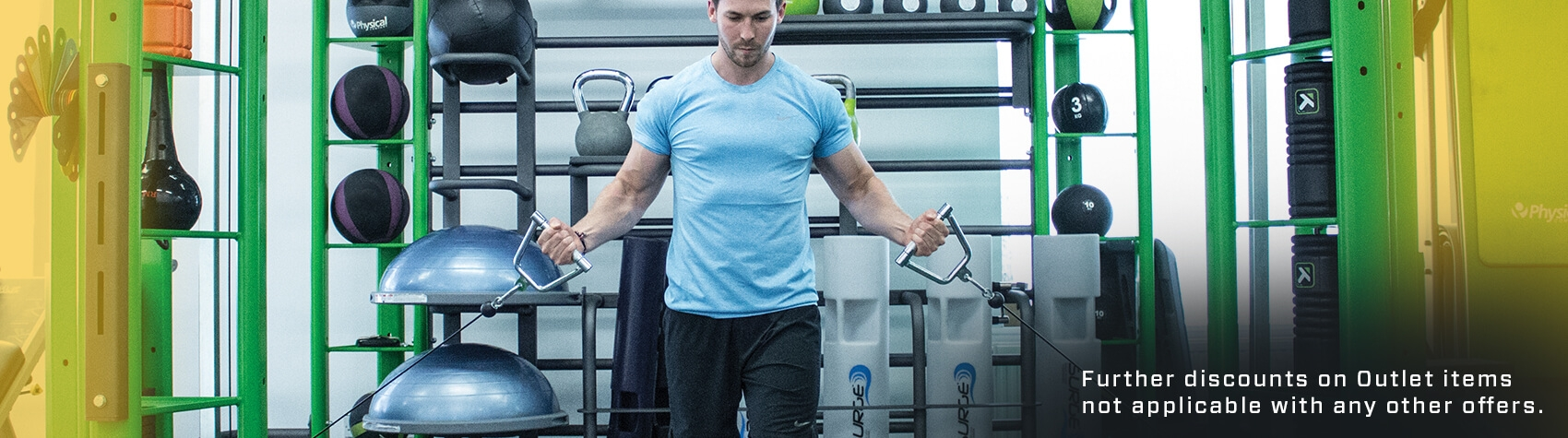 Up to 50% off strength, combat, studio and functional gym equipment