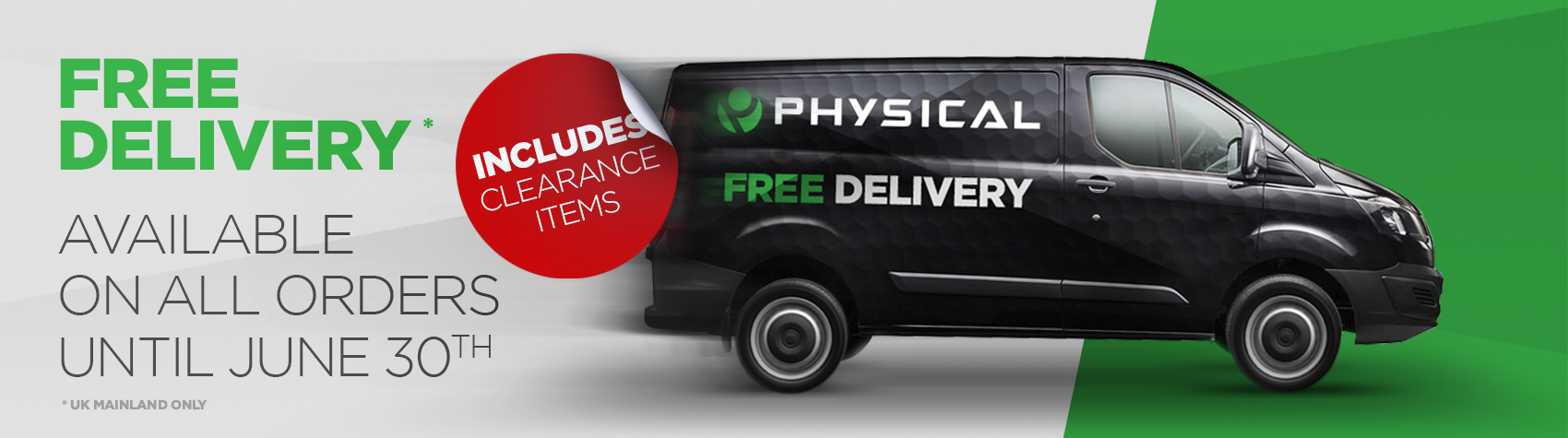 Free Delivery Clearance