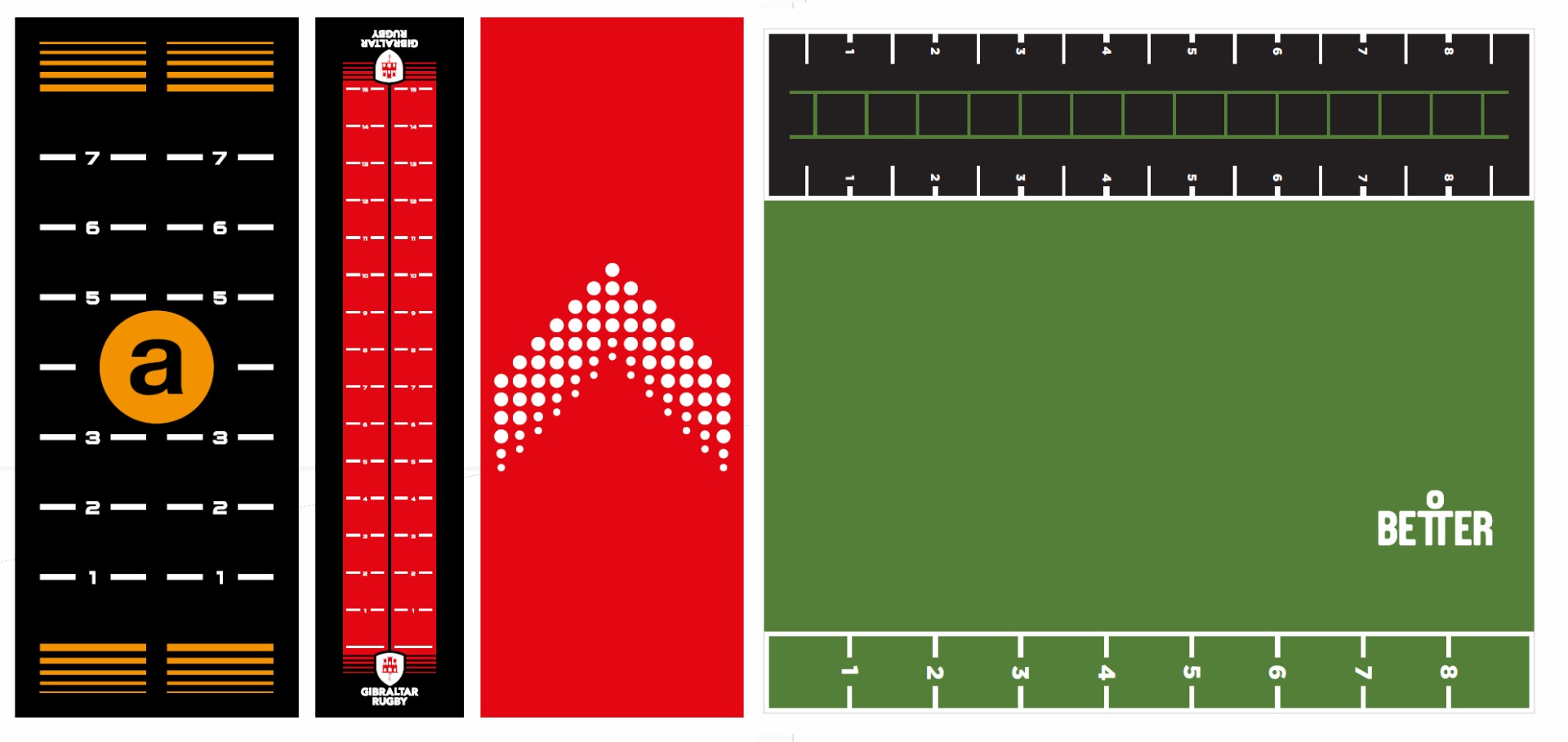 Custom Grass Design Ideas